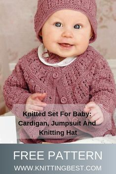 Chest: 49 67 cm Length: 24 38 cm Sleeve length from armpit: 12 Crochet Baby Cardigan, Booties Crochet, Crochet Jacket, Knit Or Crochet, Cardigan Pattern, Baby Boy Knitting Patterns, Knitting For Kids, Baby Patterns, Knitting Ideas