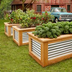 Some gardeners prefer traditional gardening, but not the ones we've been hearing from. Those who've made the switch love raised garden beds and won't go back. Here's how to make a set yourself.