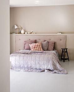 natuurlijke kleuren in de slaapkamer zorgen voor rust en eenheid