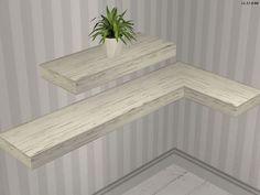by request: Nordic Shelves AL Recols - Möbel / Furniture - All4Sims.de