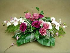 RÓŻE różowe STORCZYK 2051 misa sztuczne kwiaty Kompozycje kwiatowe Marko604