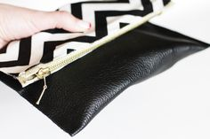 DIY Leather Clutches | Lilyshop Blog by Jessie Jane