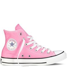 3d11c2643457 online shopping for Converse Womens Converse All Star Hi High Top Chuck  Taylor Chucks Trainers - Pink - from top store. See new offer for Converse  Womens ...