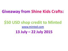 4 hours left only!! Minted has a lot of things suitable for teachers!