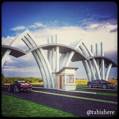 I have designed 6 for a & 5 of them are rejected! Gate Wall Design, Main Gate Design, Entrance Design, Architecture Concept Drawings, Architecture Design, Arch Gate, Compound Wall Design, Arch Street, Gate Way
