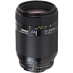 Nikon 70210mm F4F56 D AF Macro Zoom Lens ** Click image for more details.