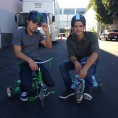 Dylan Sprayberry & Tyler Posey
