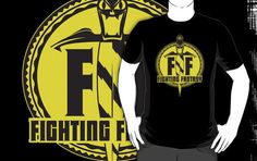 Vintage Fighting Fantasy logo t-shirt.