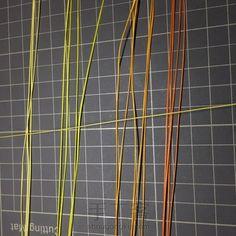 银杏叶蜡线编织 第2步