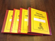 Gallimaufry Grove: Kids' Travel Activities for Car or Plane