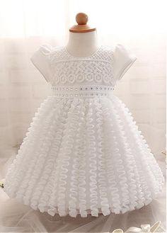Girls' Clothing (newborn-5t) Baby Girls Mini Mode Dress 6-9 Months Harmonious Colors