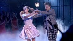 Sadie Robertson and dance partner Mark Ballas' Halloween spooktacular performance earned them their gravest scores of the season on Dancing With The Stars.