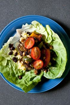 lettuce wrap tacos via the edible perspective (really good- don't be intimidated by the steps)