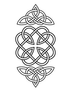 celtic knot | to print, click the image then choose print from your browser's file ...
