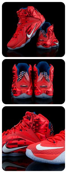 Grab this 4th of July Nike LeBron 12 now.