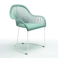 MIDJ - CDC Design · Accoudoir, Chaise Cuir, Chaises, Chaises De Restaurant,  Fauteuil, Meuble, Traîneau 722f08ce3d05