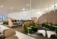 'The Hub': Its Biggest Ever Business Class Lounge, Charles de Gaulle, Paris