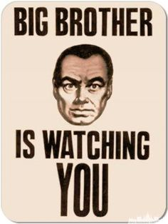Few writers saw the power of propaganda as clearly as George Orwell in Big Brother is Watching You may not be real, but it sure is related to propaganda. Holden Caulfield, George Orwell, Diablo Guardian, Jose Emilio Pacheco, Orwell Quotes, Dave Eggers, Big Government, Penguin Books, Marketing