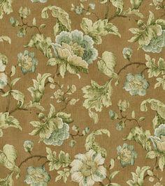 Home Decor Print Fabric-Croscill Wilhelm/Cliffside/Natural & home decor print fabric at Joann.com