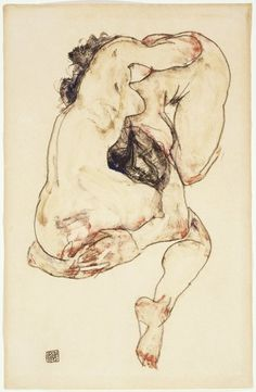 Egon Schiele illustration
