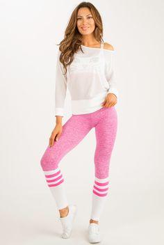 Sock Leggings - Pink