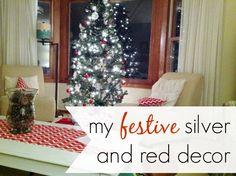 simple and festive decor #fabulouslyfestive