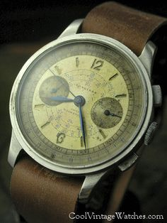 1940's Longines 13ZN Chronograph