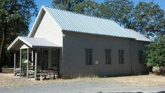 Hugo schoolhouse in Josephine county Oregon-formerly called Lucky Queen school. 1896
