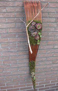 Flechten mit weiden im garten fusing seminare for Zelf muurdecoratie maken