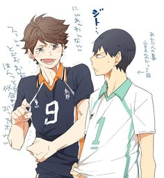 wow  i wonder what wouldve happened if they actually switched roles  more oikawa x hinata then   thats fine