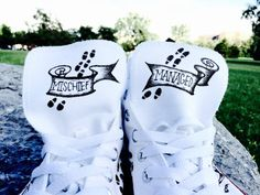 Converse Marauder's Map Harry Potter Shoes by embedit on Etsy