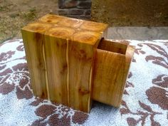Repurposed Bandsaw Multi Log Box