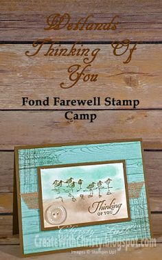 Create With Christy: Retiring Stamp Sets - Wetlands & Gorgeous Grunge Wetlands Stampin Up, Stampin Up Cards, Piper Bird, Thinking Of You Images, Burlap Ribbon, Paper Dimensions, Masculine Cards, Sympathy Cards, Stamping Up