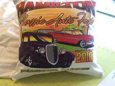 A pillow made from t- shirt..