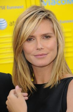 Most Popular Medium Length Hairstyles | hairstyles_for_medium_length_hair_heidi-klum-shoulder-length-straight ...