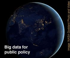 The promises and threats of big data for public policy-making | The Policy and Internet Blog