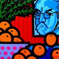 "Saatchi Art Artist John Nolan; Painting, ""Still Life With Henri Matisse"" #art"