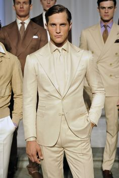 Ralph Lauren Purple Label Men's RTW Spring 2016 | Men's Fashion | Menswear | Moda Masculina | Shop at designerclothingfans.com