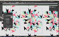 Rebecca Shaw shows you how to make and repeat directional shapes to build a swirling pattern using the Pattern Creation mode in Illustrator CS6