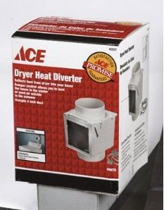 Convert your dryer vent air into heat for your home. Great way to keep the basement warm during laundry time.