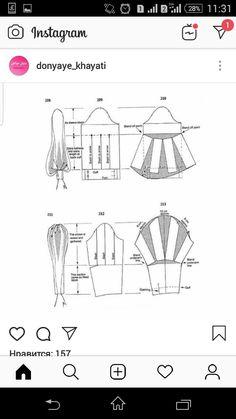 Dress Sewing Patterns, Sewing Patterns Free, Fabric Patterns, Clothing Patterns, Pattern Draping, Bodice Pattern, Pola Lengan, Sewing Sleeves, Pattern Cutting