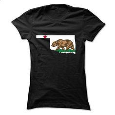 California - Oklahoma - #tee aufbewahrung #vintage tshirt. CHECK PRICE => https://www.sunfrog.com/States/California--Oklahoma-Ladies.html?68278