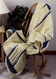 Twisted Cable Afghan | AllFreeCrochetAfghanPatterns.com