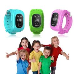 Kids GPS locator wristwatch