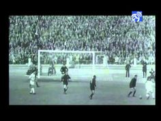 Club legend Gento was the hero against Italian team AC Milan, netting the decisive goal in extra time to ensure Real Madrid won the title for the third year . Real Madrid, Ac Milan, European Cup, Uefa Champions League, One Team, Youtube, Dolores Park, Cups, Football