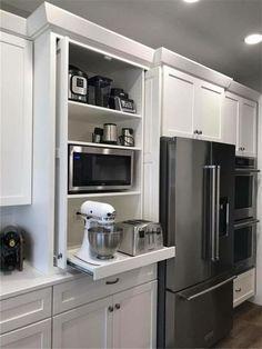 Sage Kitchen, Kitchen Redo, Home Decor Kitchen, Kitchen Interior, New Kitchen, Kitchen Storage, Home Kitchens, Kitchen Nook, Pantry Design