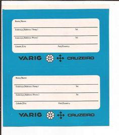 VARIG Airlines Bag Tag