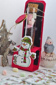 Schneemannsuppe - Eine Vorlage für die süße DIY-Idee die nicht nur an Weihnachten eine niedliche Geschenkidee ist. Kostenlose Vorlagen findest du auf dem Blog.