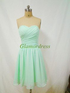 mint green short grad dress - Google Search