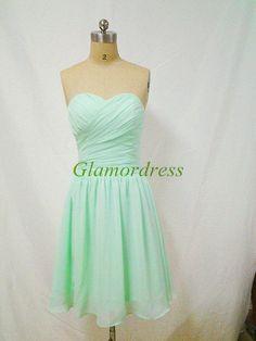 mint green short grad dress - Google Search